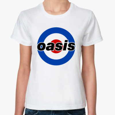 Классическая футболка  Oasis Mod Target