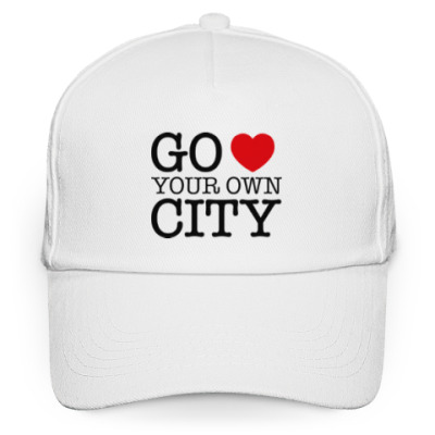 Кепка бейсболка Love your own city