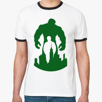 Футболка Ringer-T Incredible Hulk