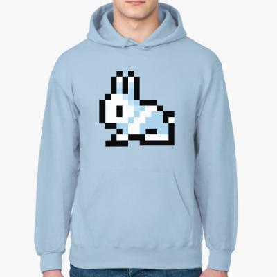 Толстовка худи Pixel Bunny