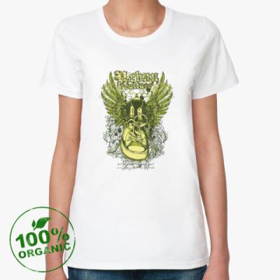 Женская футболка из органик-хлопка Urban Culture