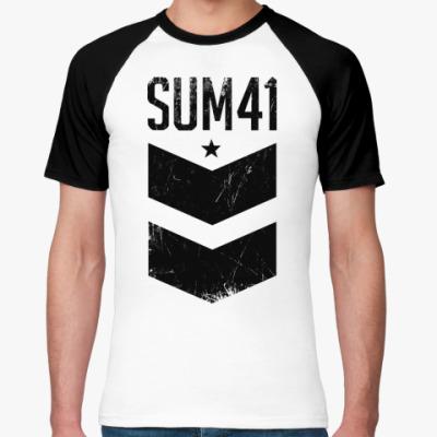 Футболка реглан Sum 41