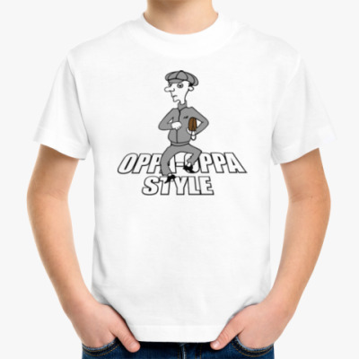 Детская футболка Oppa oppa