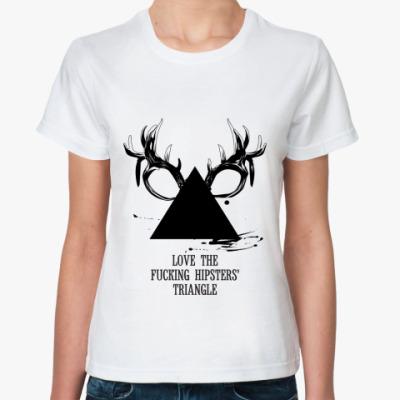 Классическая футболка 'Triangle'
