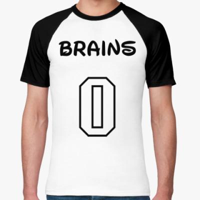 Футболка реглан Zero Brains