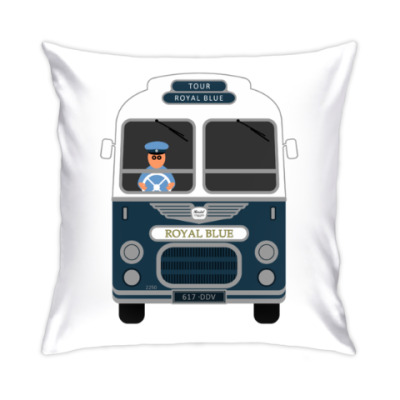 Подушка Royal Blue Coach