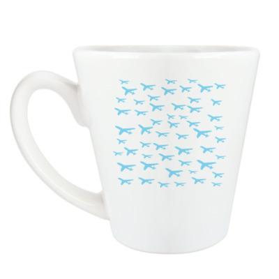 Чашка Латте 'Planes'