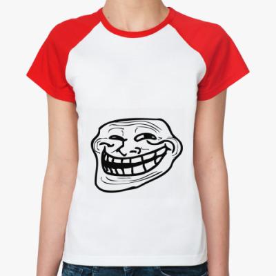 Женская футболка реглан Coolface