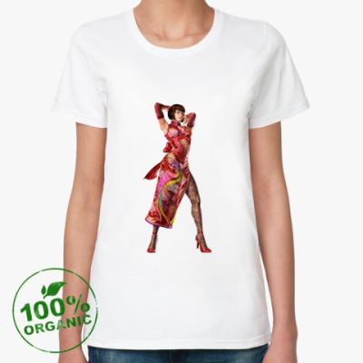 Женская футболка из органик-хлопка Анна Уильямс. Теккен