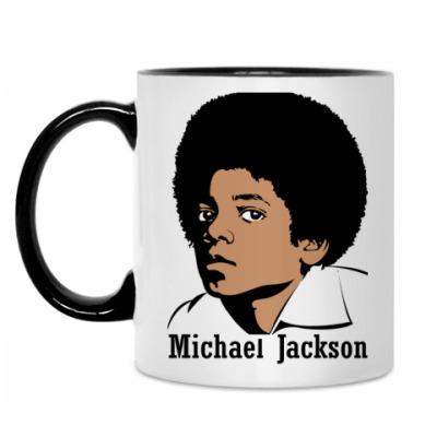 Кружка Michael Jackson в юности