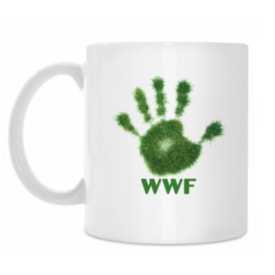 Кружка WWF. Дай пять!