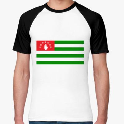 Футболка реглан Флаг Абхазии