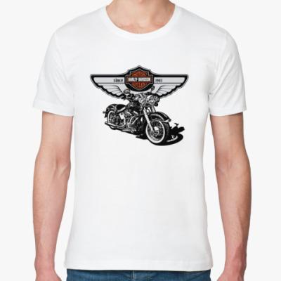Футболка из органик-хлопка Harley-Davidson - Харли-Дэвидсон