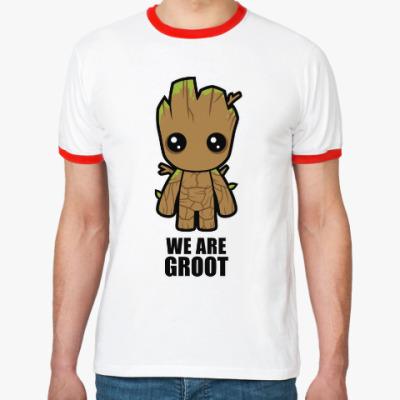 Футболка Ringer-T We are Groot