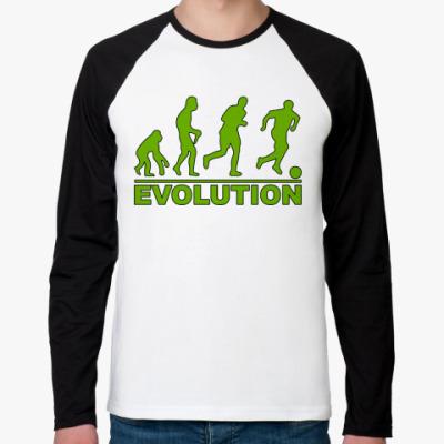 Футболка реглан с длинным рукавом Evolution