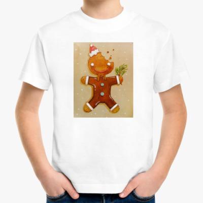 Детская футболка новогоднее печенье