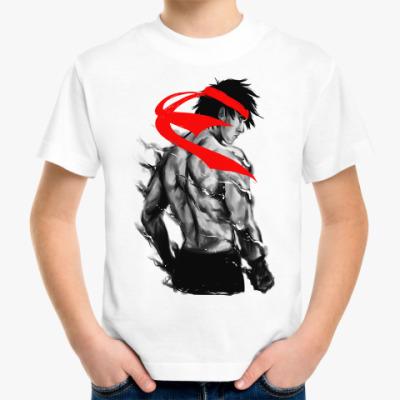 Детская футболка Боец