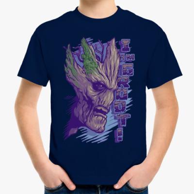 Детская футболка Я Грут