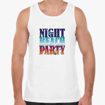 Майка  Ночь, пляж, вечеринка