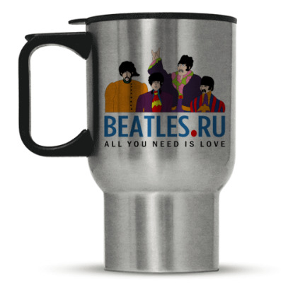 Кружка-термос Кружка- Beatles.ru