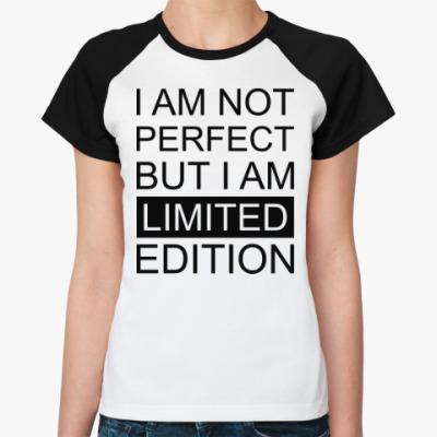 Женская футболка реглан Limited Edition