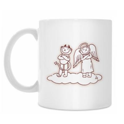 Кружка 'Ангелы и Демоны'