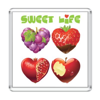 Магнит Sweet life - Сладкая жизнь