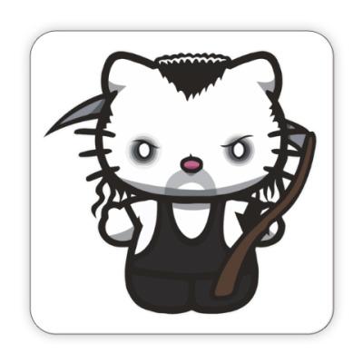 Костер (подставка под кружку) Kitty Undertaker