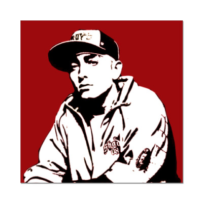 Наклейка (стикер)  Eminem