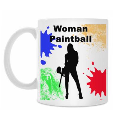 Кружка Woman Paintball