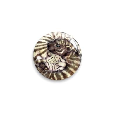 Значок 25мм  'Тигры'