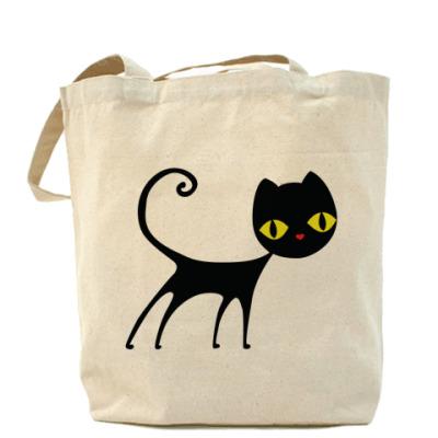 Сумка Черный кот