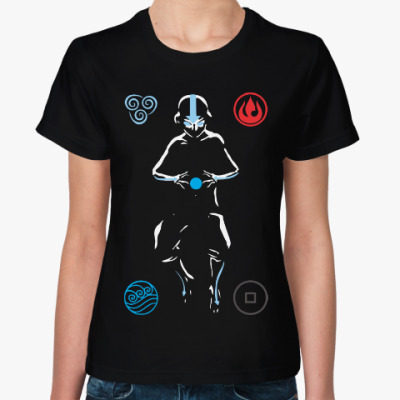 Женская футболка Аватар