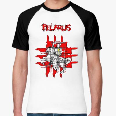 Футболка реглан Belarus HorrorGeo PD