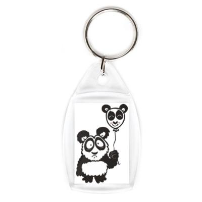 Панда с шариком