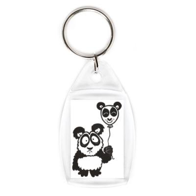 Брелок Панда с шариком