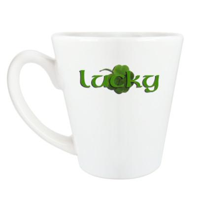 Чашка Латте Lucky