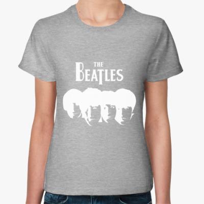 Женская футболка The Beatles