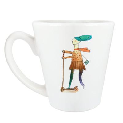 Чашка Латте «Весна»