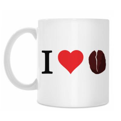Кружка I <3 coffee