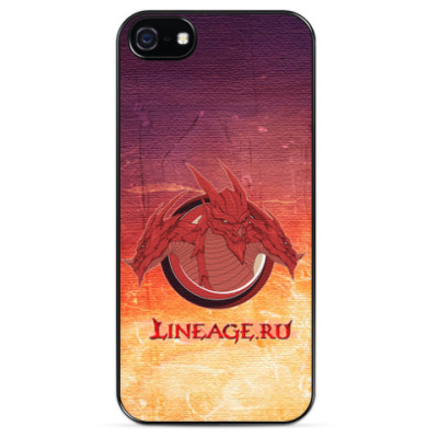 Чехол для iPhone Red dragon