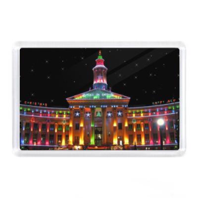 Магнит Denver, USA, New Year