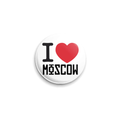 Значок 25мм Москва  25 мм