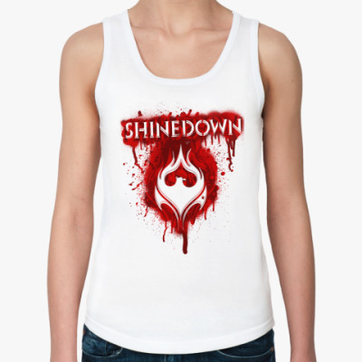 Женская майка Shinedown