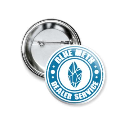 Значок 37мм Blue Meth Dealer