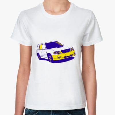 Классическая футболка STI Forester