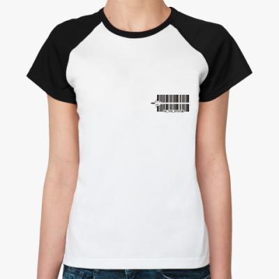 Женская футболка реглан Fuck the System