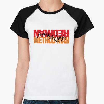 Женская футболка реглан Method Man & Redman