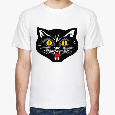 Футболка Черный кот