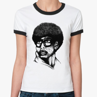 Женская футболка Ringer-T Brother